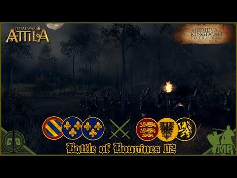 Total War: Attila | Medieval Kingdoms Total War 1212AD | Battle of Bouvines 02 ᴴᴰ