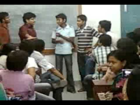 Ragging of Barasat Govt College P II