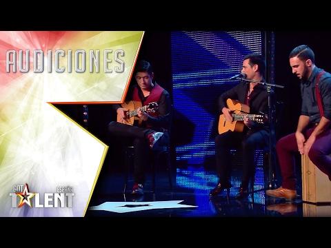 Portuguese Flamenco! Oooleee! Beautiful mix!   Auditions 6   Spain's Got Talent 2017