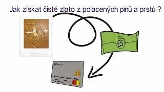 Jak získat čisté zlato z pozlacených pinů a prstů