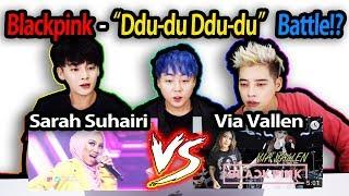 Sarah Suhairi Ddu Du Ddu Du vs Via vallen Ddu Du Ddu Du