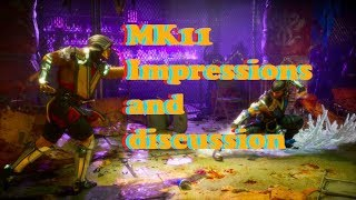 Mortal Kombat 11: Very EARLY Impressions and Discussion  (The Reveal Build)