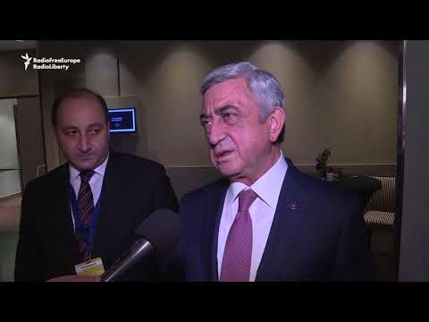 Armenian President Says Azerbaijan Won't Complicate Summit Communique