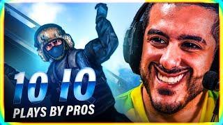 WHEN PROS MAKE 10 IQ PLAYS in CS:GO