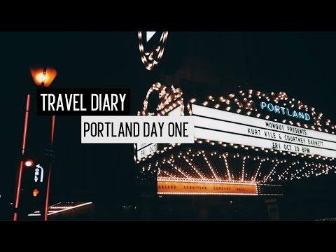 Travel Diary: Portland Day One (Vlog. 3)