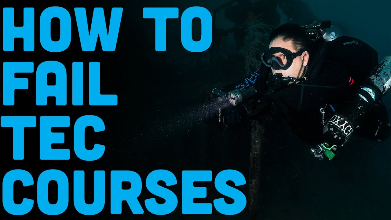Why Scuba Divers FAIL Technical Diver Training