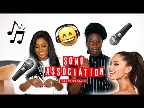 PROVA A NON CANTARE 🤣| SONG ASSOCIATION CHALLENGE w/ DAVID BLANK - COME ARIANA GRANDE DA ELLE !!!