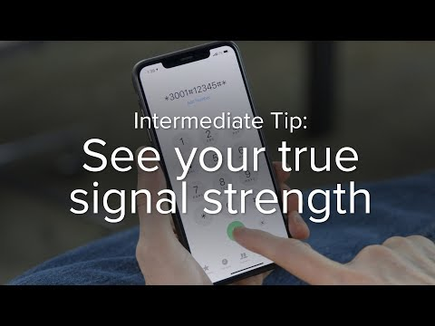 See Your TRUE Signal Strength On IPhone