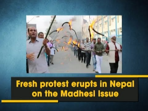 Fresh protest erupts in Nepal on the Madhesi issue - Nepal News
