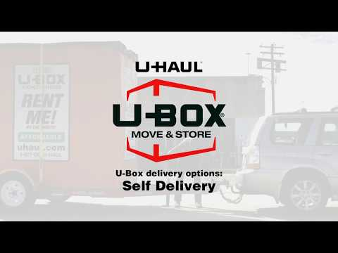 U-Box® Moving And Storage Containers: Self Delivery