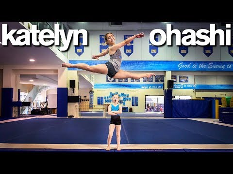 Body Shamed Perfect 10 Gymnast Teaches My Daughter ft Katelyn Ohashi *Emotional*