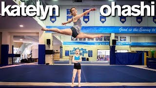 Body Shamed Perfect 10 Gymnast Teaches My Daughter (ft. Katelyn Ohashi) *Emotional*