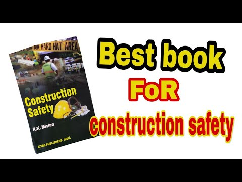 Best Book Of Construction Field ।। Construction Safety ।। RK Mishra