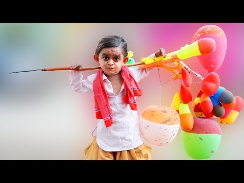 छोटू के गुब्बारे | CHOTU KE BALLOONS | Khandesh Hindi Comedy | Chotu Comedy Video