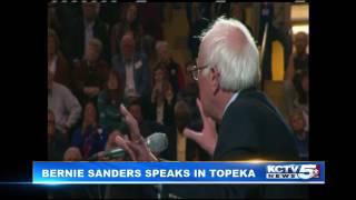 Bernie Sanders speaks in #Topeka, Kansas 2-25-17