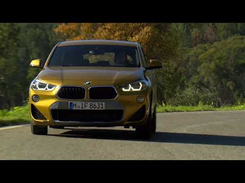 The BMW X2 – Driving scenes