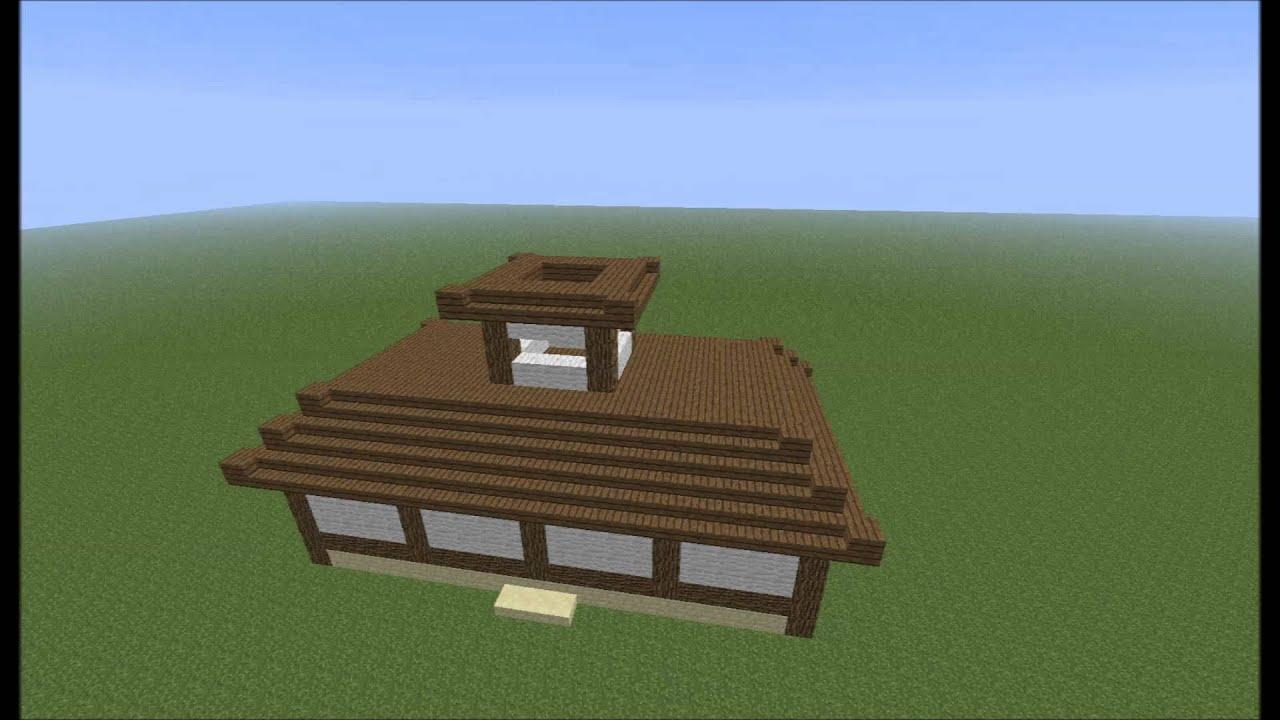 Minecraft buildings costruire una casa giapponese for Case in stile giapponese