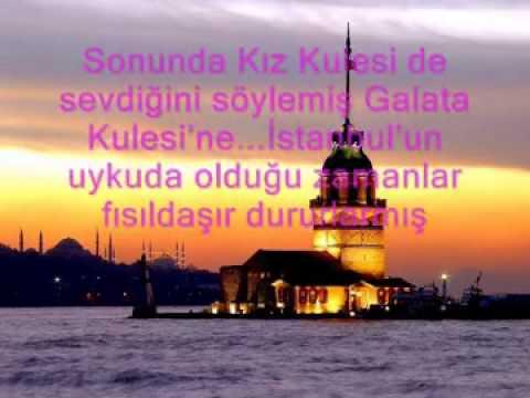 Galata kulesi ile kız kulesinin aşkı