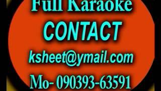 tune mujhe bulayaasha- karaoke