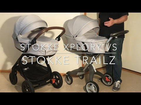 Stokke Trailz VS Stokke Xplory: Mechanics, Comfort, Use