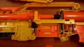 How To: The Nerf Longshot CS-6 Mod Tutorial (AR Removal, Spring Replacement, Stock Reinforced)