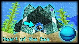 Cách sử dụng Trái tim của Biển trong minecraft