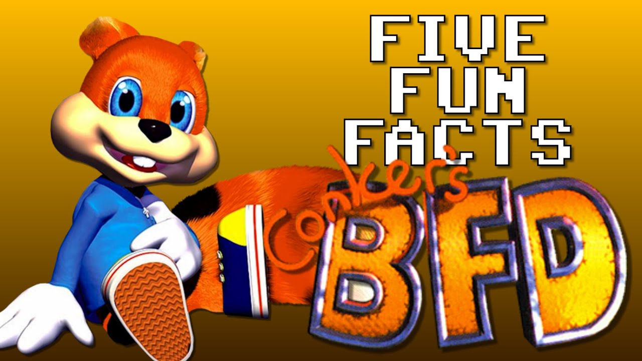 Conker S Bad Fur Day Five Fun Facts Youtube