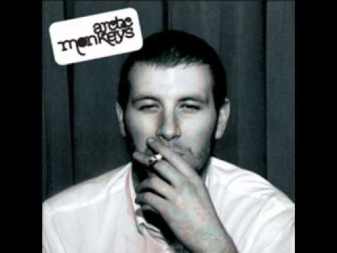 01- Arctic Monkeys - The view from the afternoon - Hq Sound+Lyrics