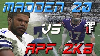 Let's Compare Madden 20 to All-Pro Football 2K8