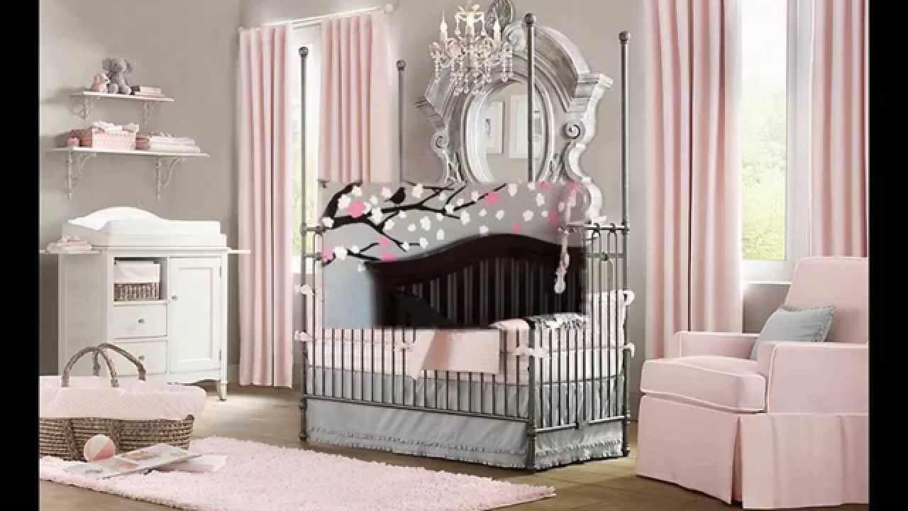 baby girl room decorating ideas - youtube