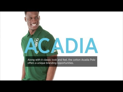 Acadia Short Sleeve Polo