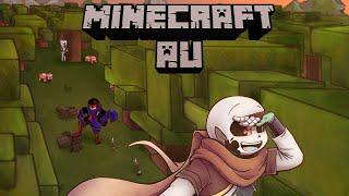 Minecraft AU Part 2 - BackStory【 Undertale Comic Dub 】