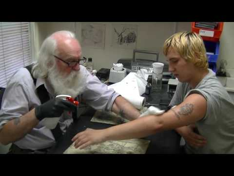 THE ANCIENT ART--TATTOOING
