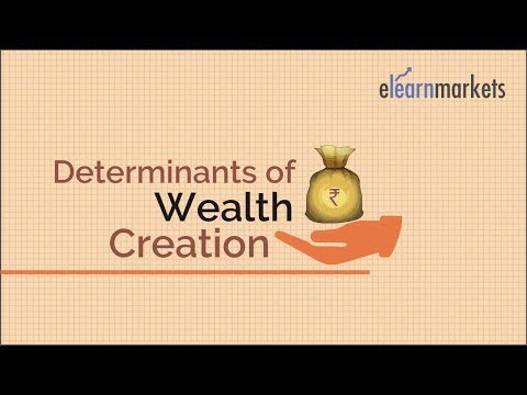 Determinants Of Wealth Creation