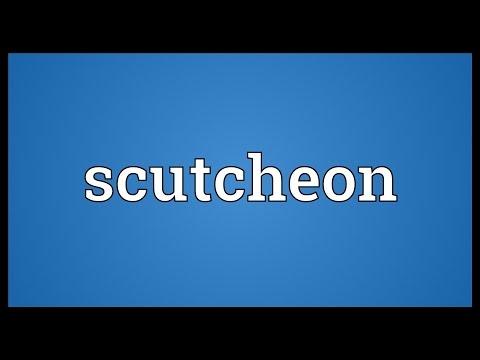 Header of scutcheon