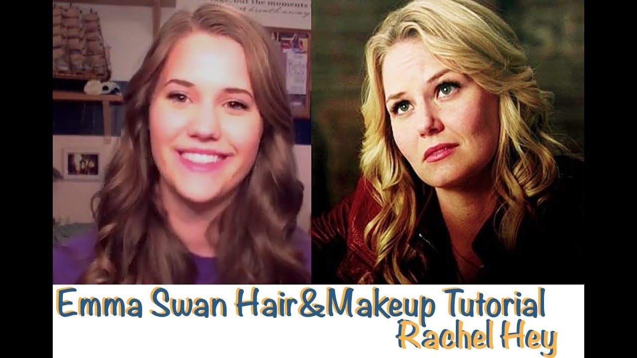 Emma Swan Hair Makeup Tutorial Youtube