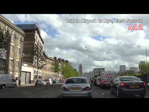 United KingdomFrom Luton Airport to Rye イギリスルートン空港よりライへ車で