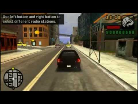 PSVITA - GTA Liberty City Stories Gameplay