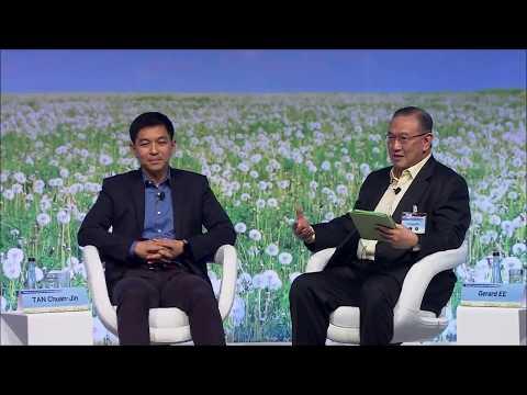 Speaker Tan Chuan-Jin sharing at the Temasek Trust Conversation on Corporate Giving - Part 2