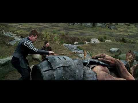 Movie Clip - Jack kills 2nd Giant from - Jack the giant slayer