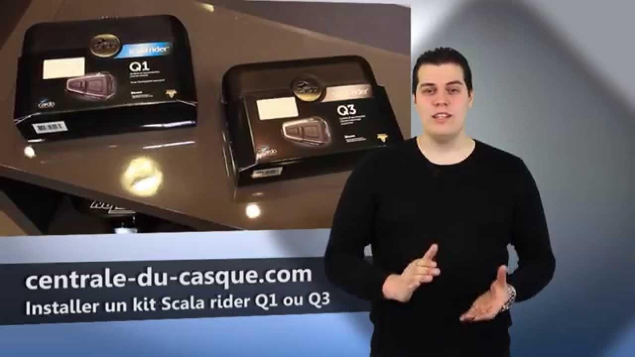 cardo scala rider q3 multiset au meilleur prix sur. Black Bedroom Furniture Sets. Home Design Ideas