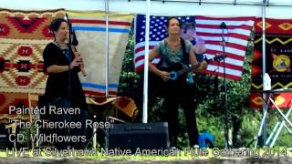"Painted Raven performs ""The Cherokee Rose"" at the 2014 Silverhawk Native American Flute Gathering"