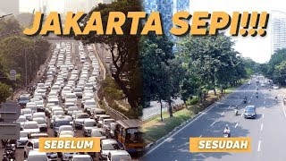 Download Video Begini Sepinya Jakarta Sebelum dan Sesudah Mudik Lebaran 2018 MP3 3GP MP4