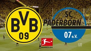 Bundesliga 2019/20 - borussia dortmund vs paderborn 22/11/19 fifa 20