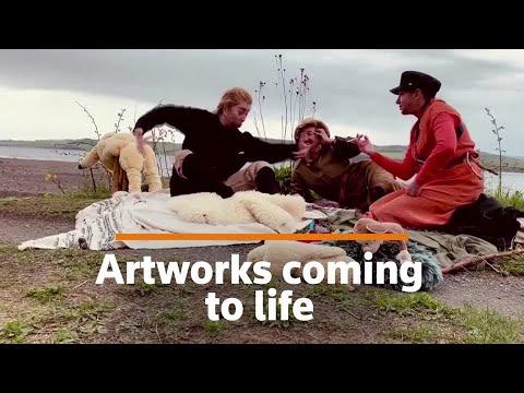 Life imitates art: Russian group recreate masterpieces