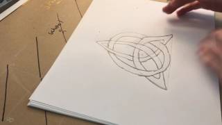 How to Draw A Triquetra Celtic Knot- Episode #5