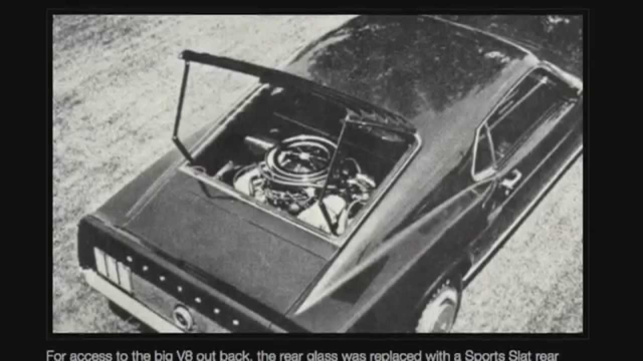 macs motor city garage ford mustang mid engine 1969 429