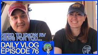 Vlog 076 RV News this week: Erwin Hymer, The Wendland's, Vandalized RV's & More