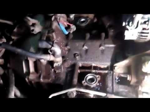 Замена прокладок под трубой водяного охлаждения на SUBARU LEGACY B4 ч2
