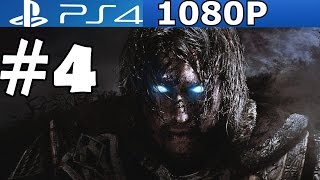 Middle Earth Shadow of Mordor Walkthrough Part 4 Gameplay Let